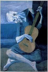 Blue Guitarist